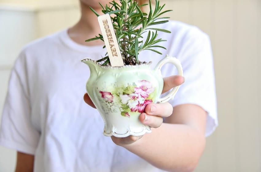 DIY Herb Planter