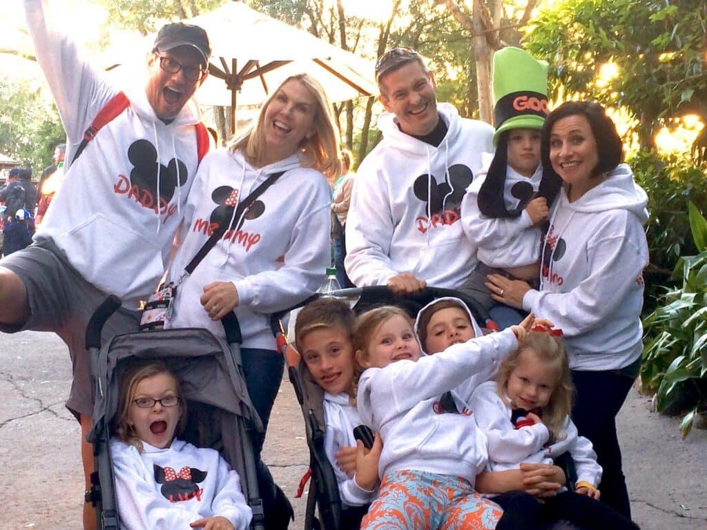 Family Vacation Matching Sweatshirts