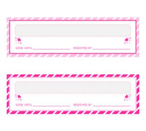 Free Love Coupons - Coupon Book Ideas For Valentine's Day