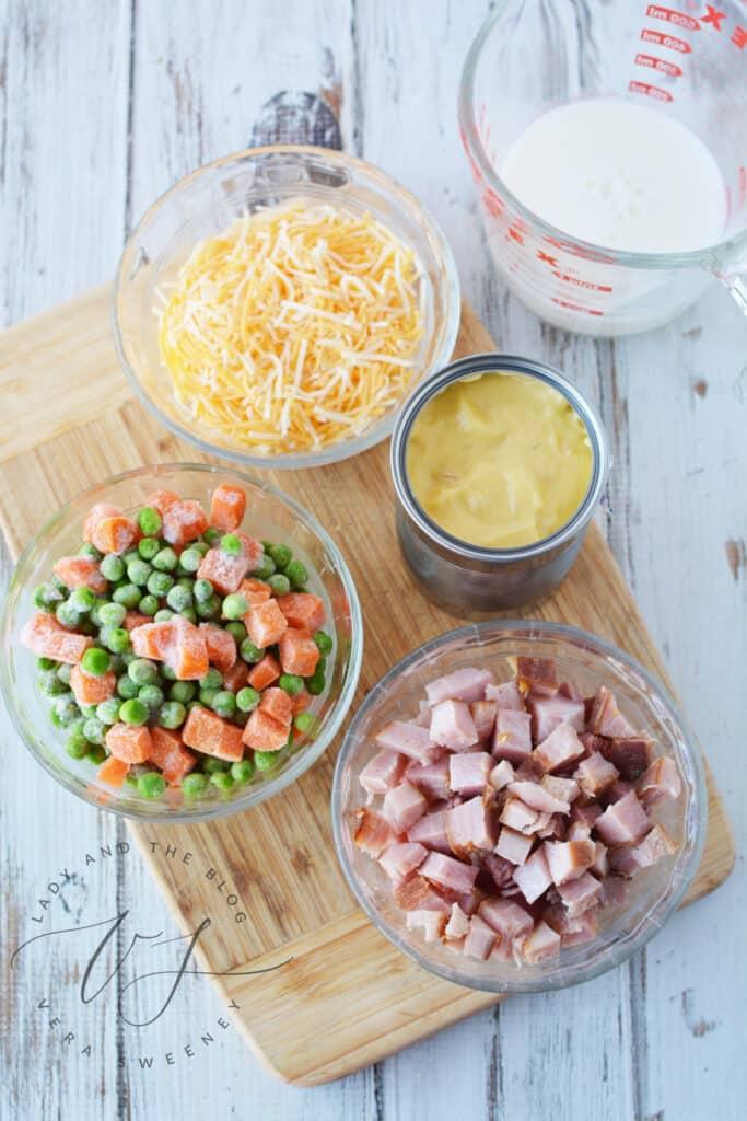 Ham And Pea Pasta Recipe - Easy Ham And Pasta Casserole For The Family