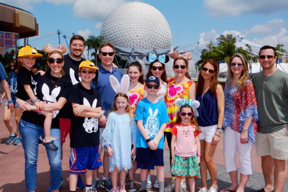 Epcot at Easter