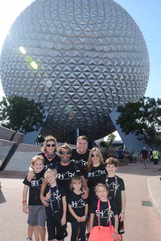 Epcot ball family