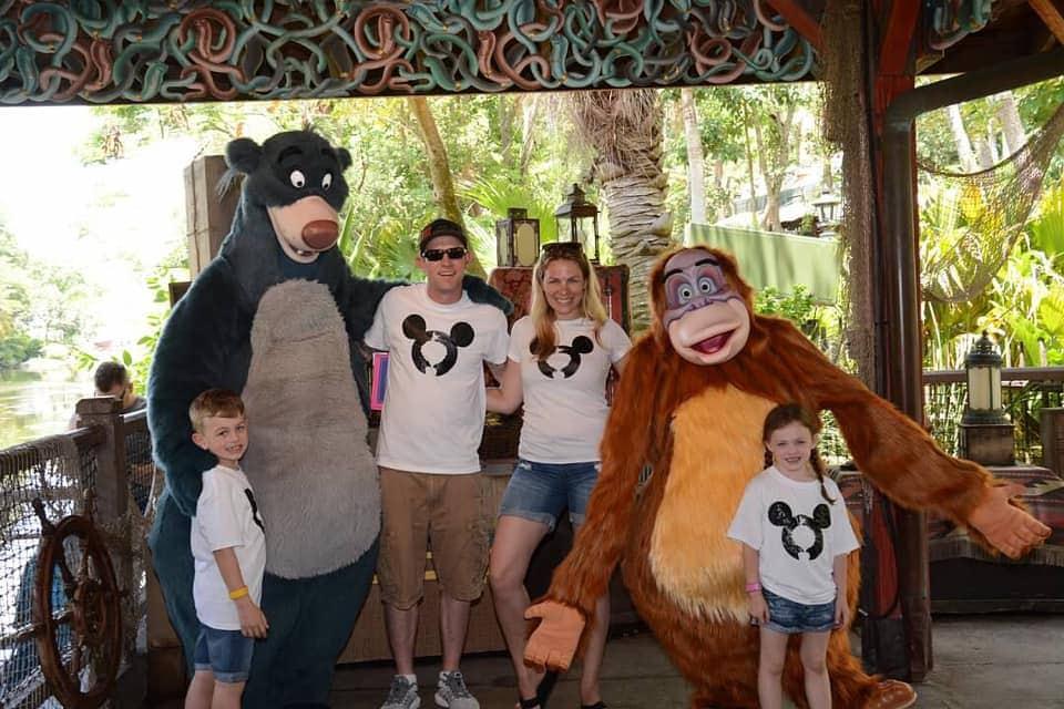 Jungle Cruise family photo