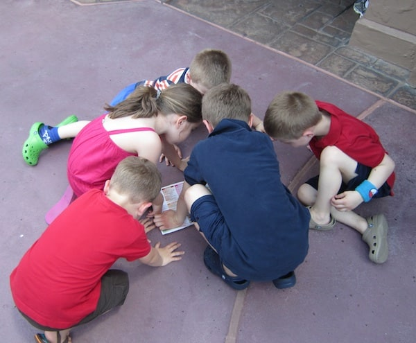 planning disney kids