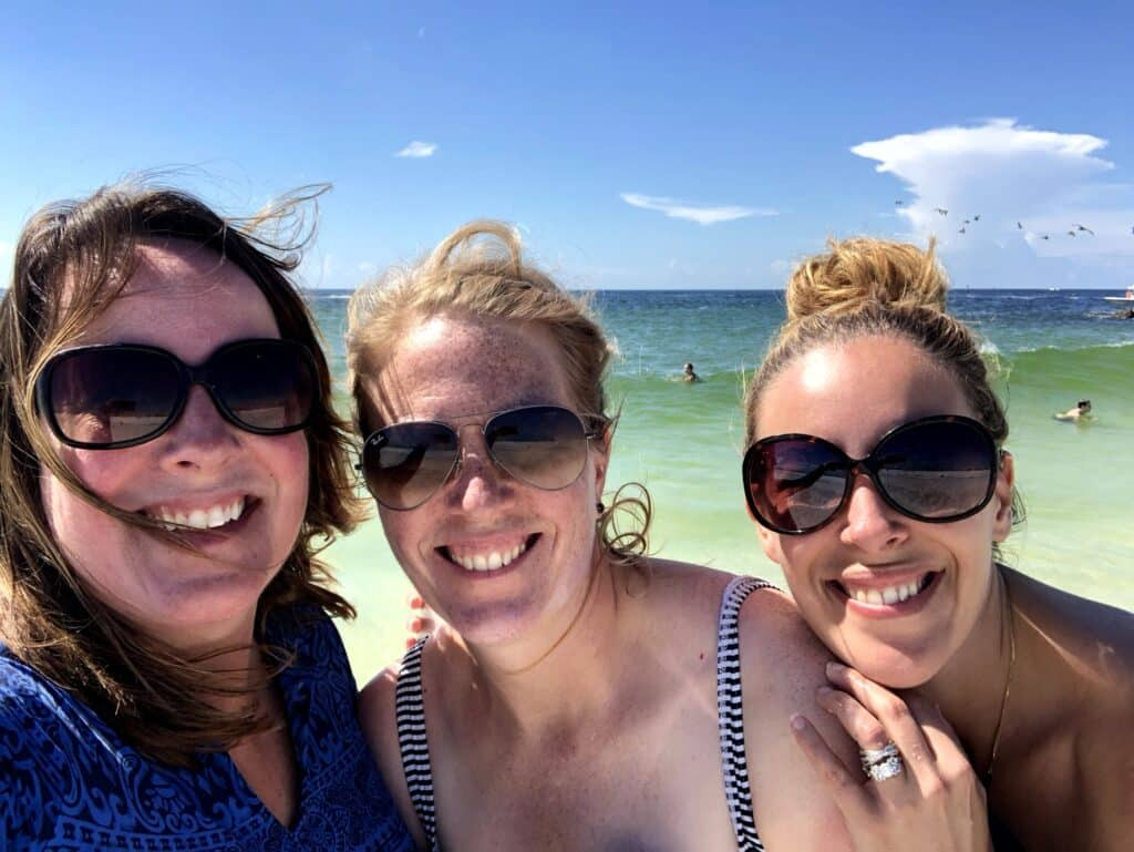 Panama City Beach with friends Shell Island