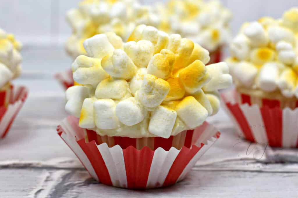 Popcorn Dessert To Celebrate Dumbo Movie