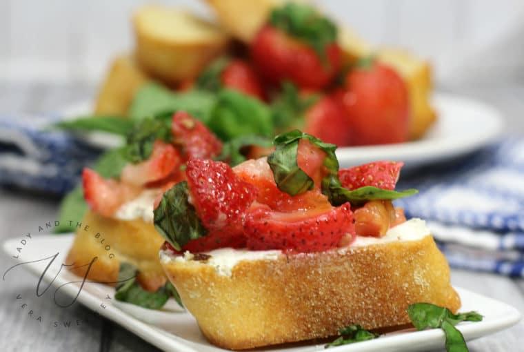 Strawberry Bruschetta Recipe