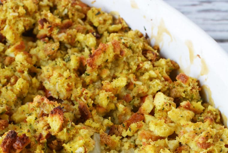 Turkey Casserole Recipe - Easy To Make Turkey And Stuffing Casserole