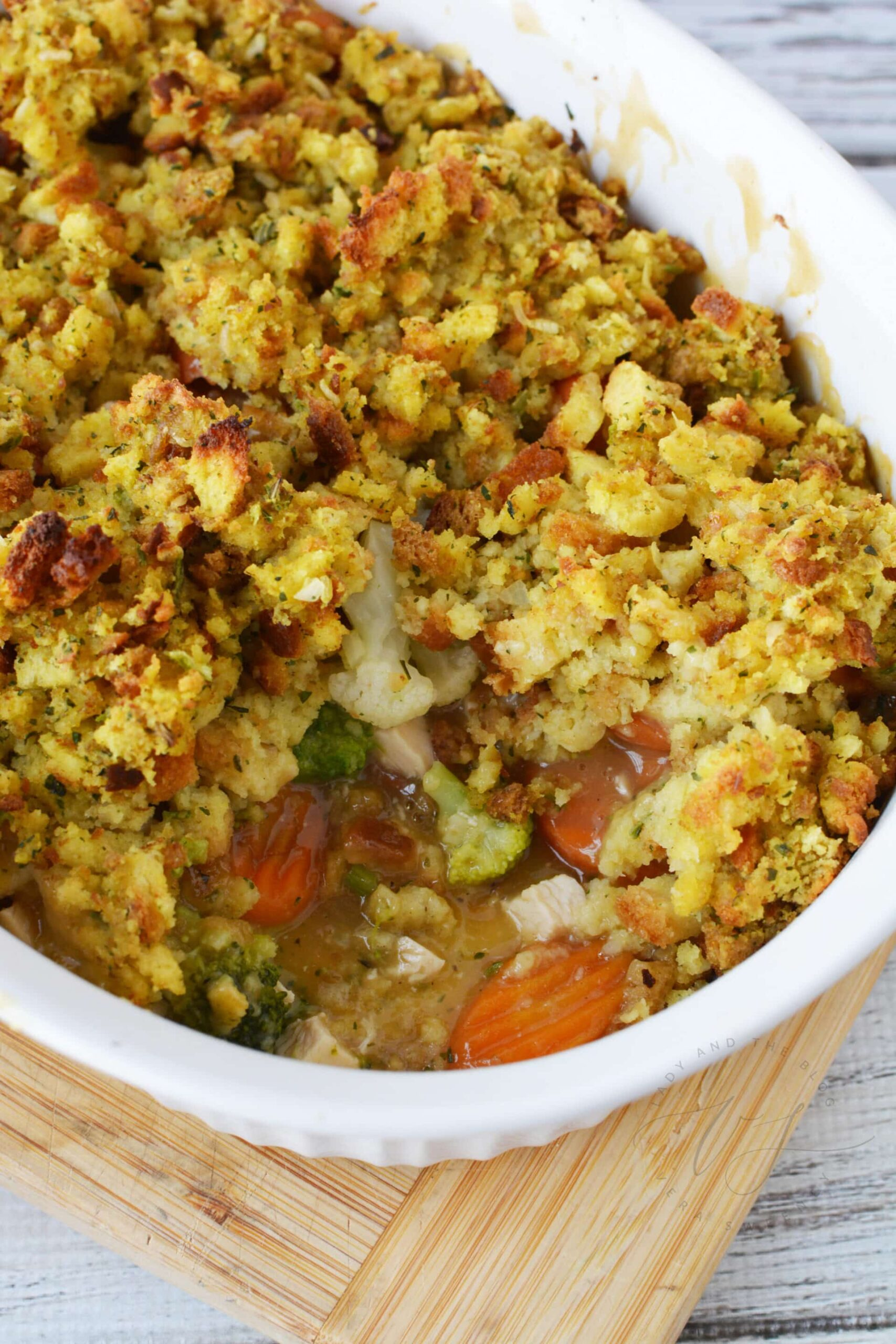 Turkey Casserole Recipe - Easy To Make Turkey And Stuffing Casserole