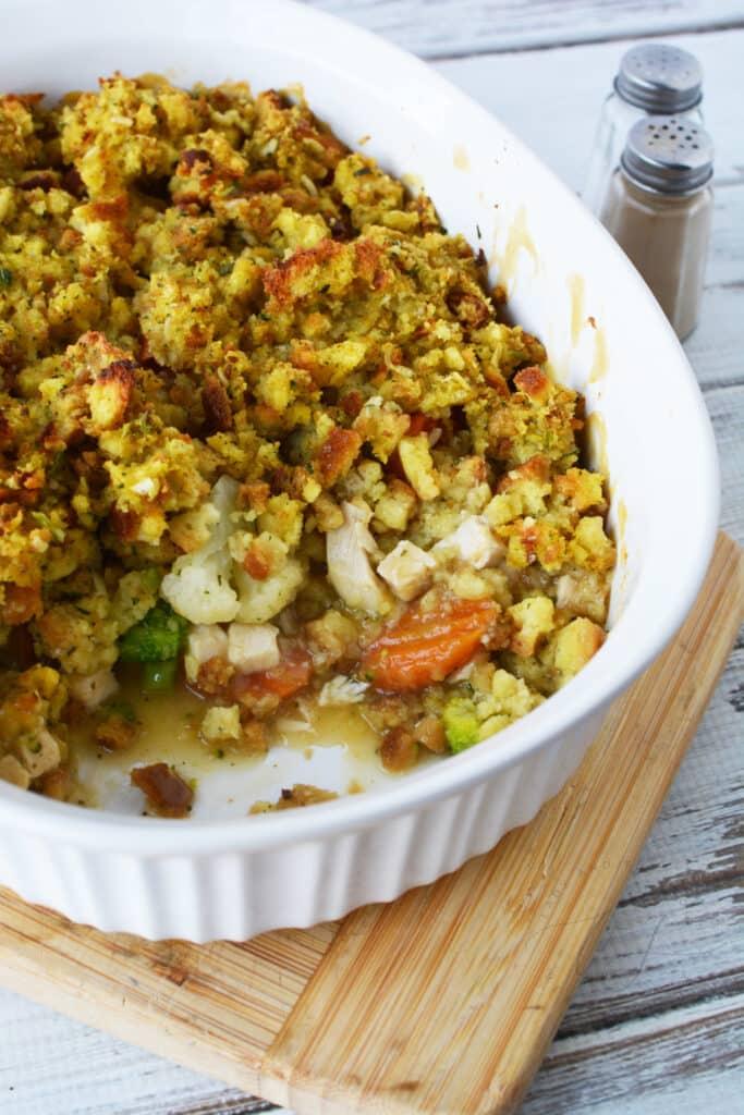 Turkey and Stuffing Casserole Recipe