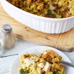 Turkey and Stuffing Casserole Recipe