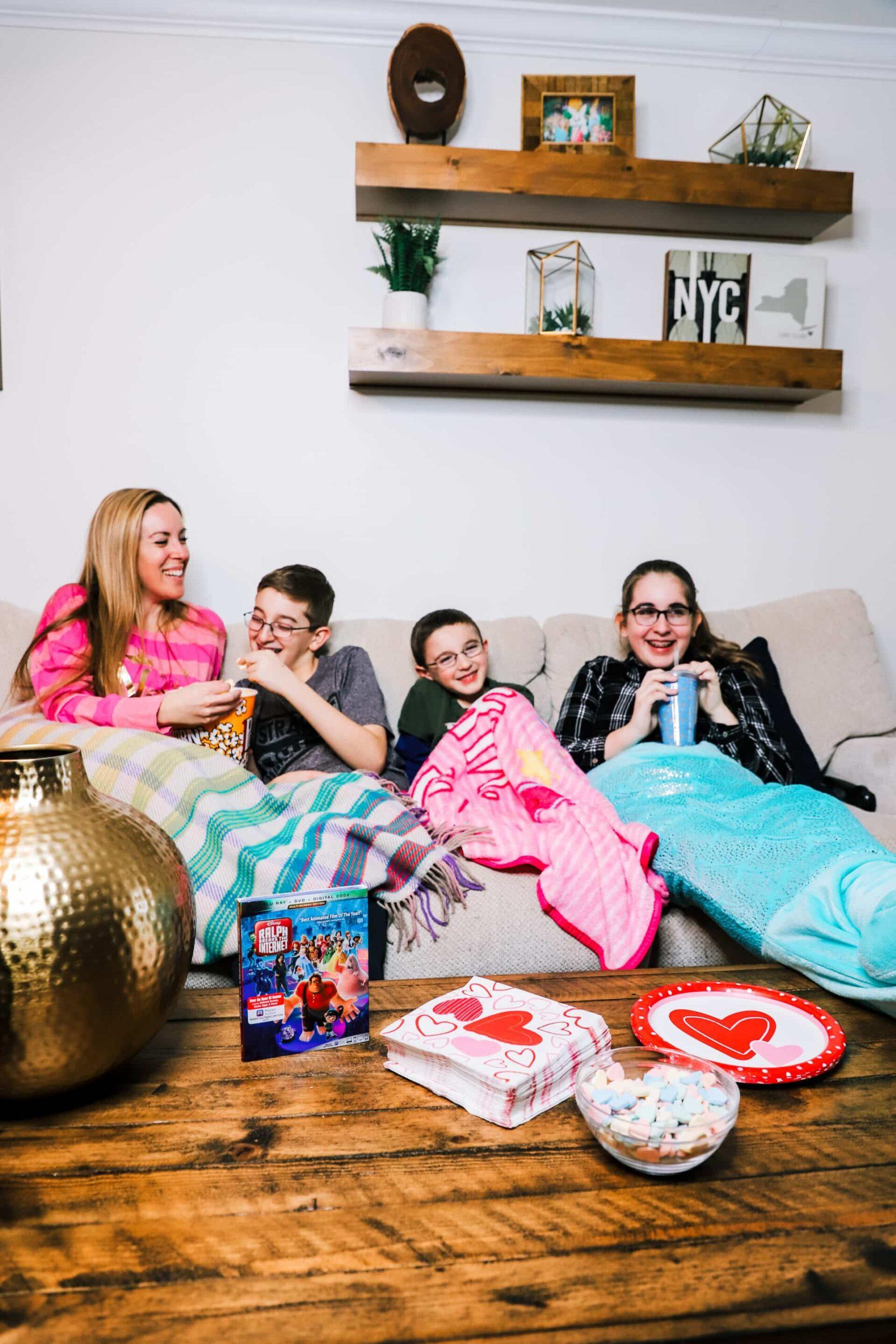 family movie night with kids
