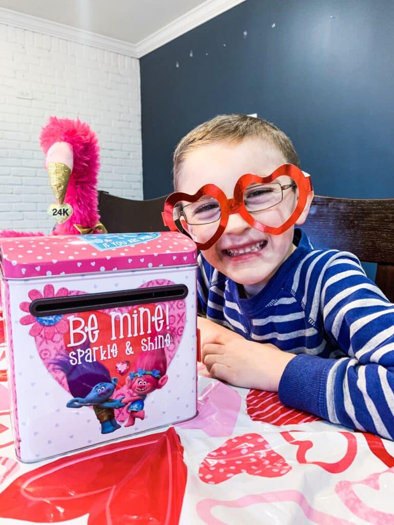 Valentine's Day Mail Box for Kids