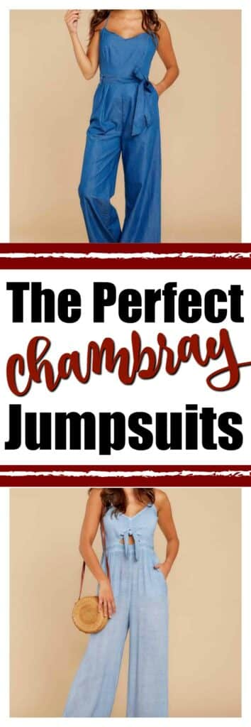 The Perfect Chambray Jumpsuits