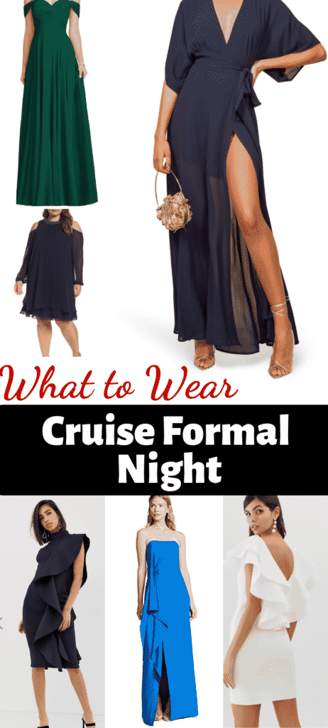 Cruise Formal Wear - What To Wear On A Cruise Formal Night