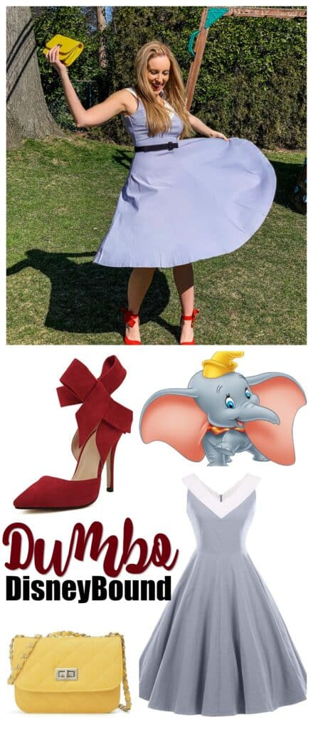 Dumbo Disneybound Idea For Women