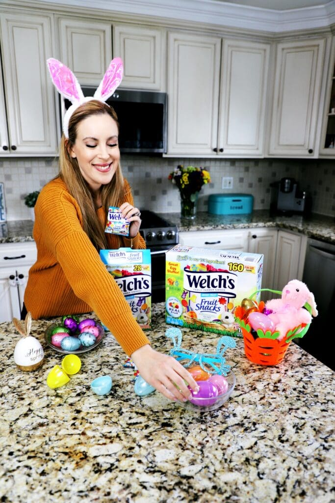 EASTER EGG HUNT IDEA WITH WELCH'S FRUIT SNACKS