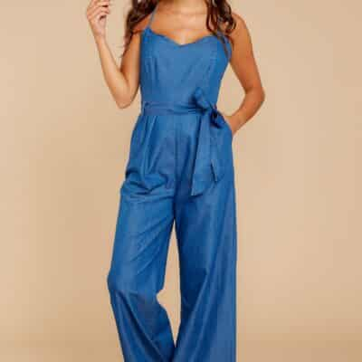 The Perfect Chambray Jumpsuit For Summer