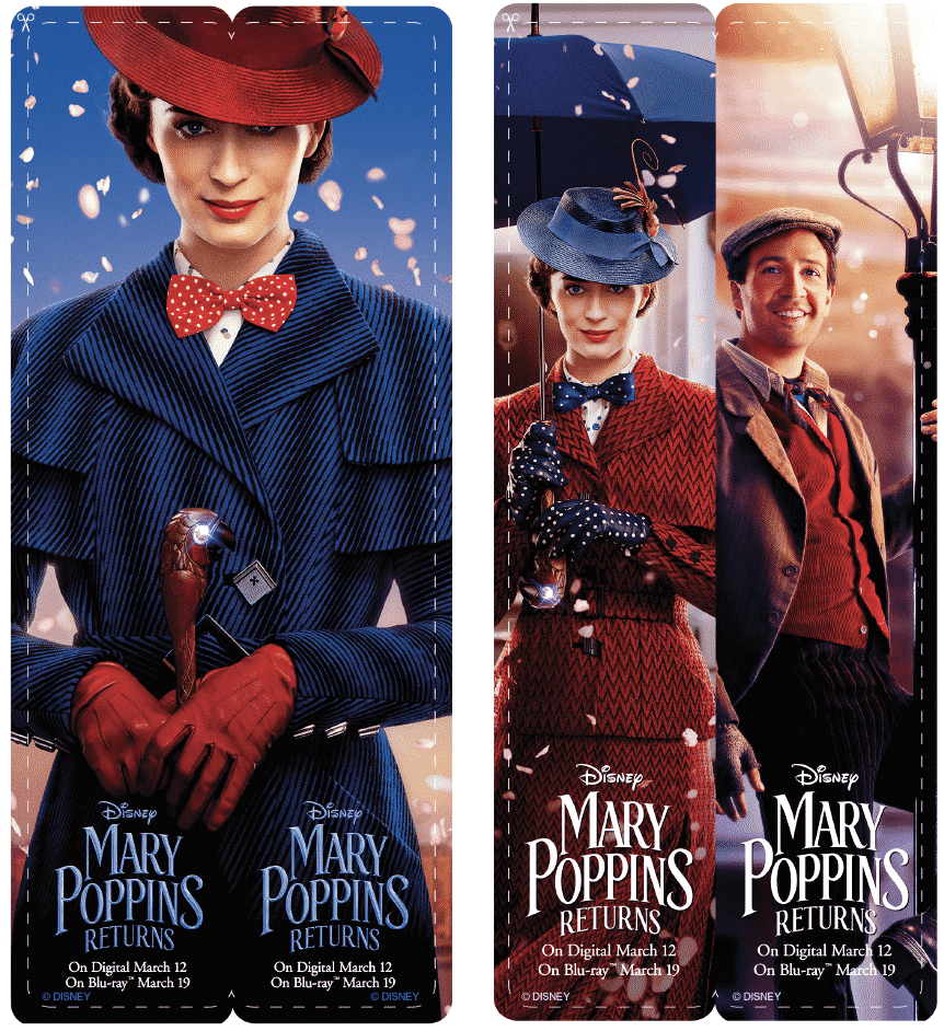 Mary Poppins Bookmarks