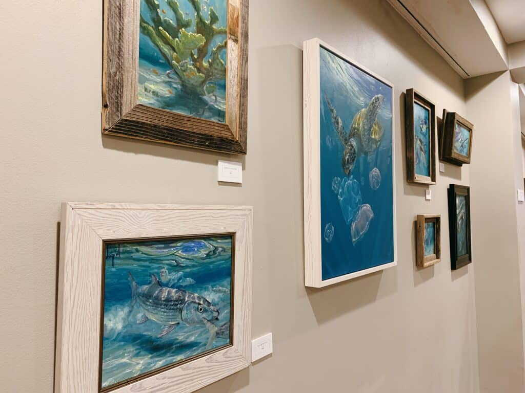 underwater sea art florida local