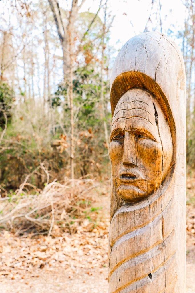Indian Village - Jamestown settlement virginia