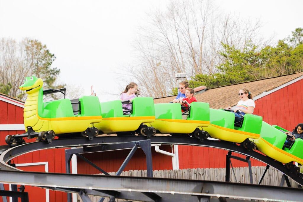 Go Karts Plus rollercoaster