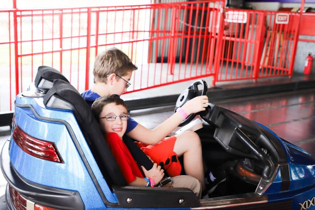Go Karts Plus bumper car