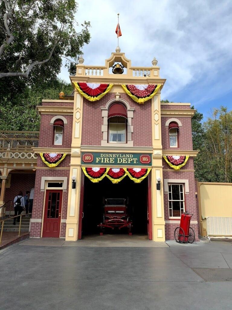 Disney Fire Dept
