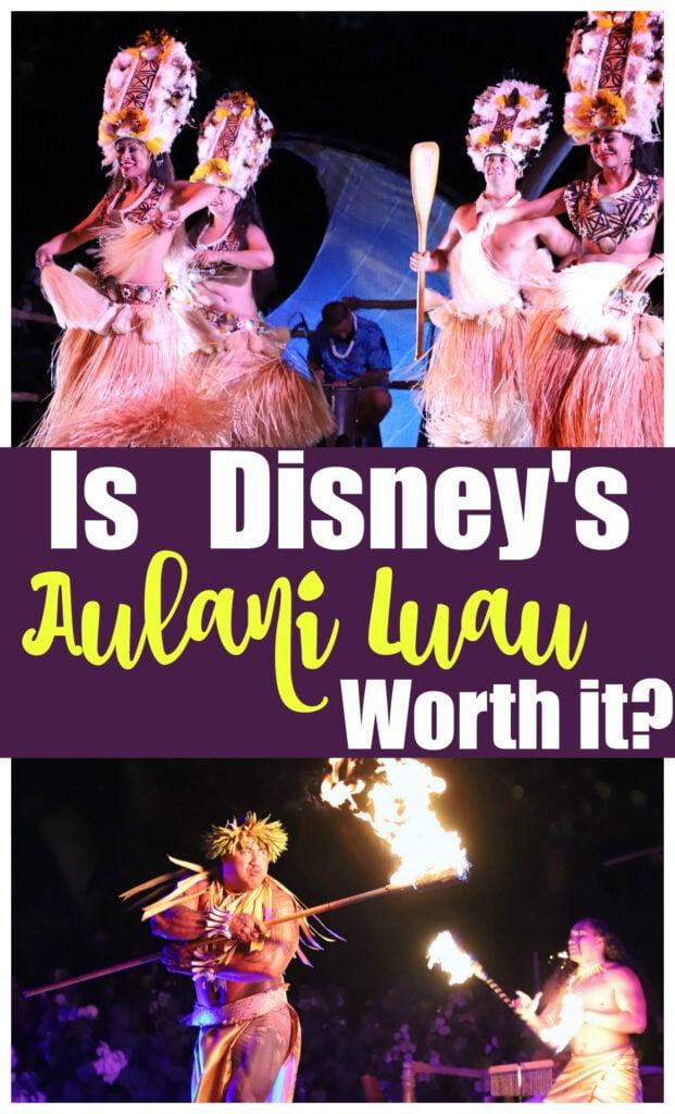 Is Disney's Aulani Luau Worth It?