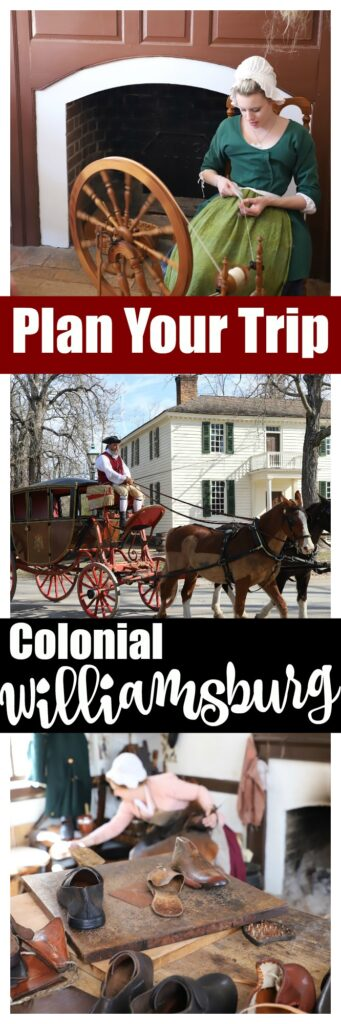 Plan Your Trip To The Colonial Williamsburg Historic Area