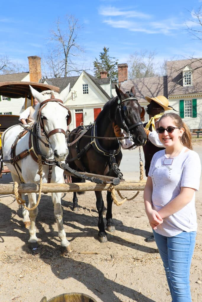 Colonial Williamsburg Carriage Ride