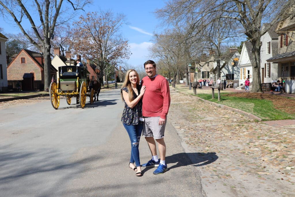 Colonial Williamsburg street photo