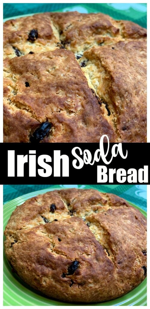Grandma's Irish Soda Bread Recipe with Raisins