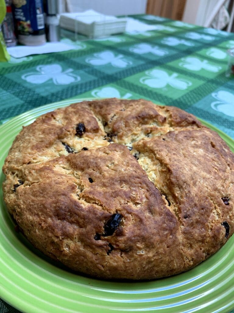 Irish Soda Bread Recipe With Raisins by Lady and the Blog