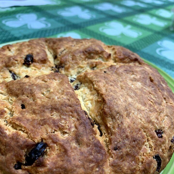 Irish Soda Bread Recipe With Raisins