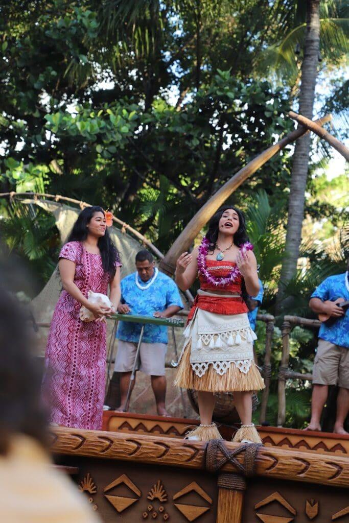 moana singing aulani luau