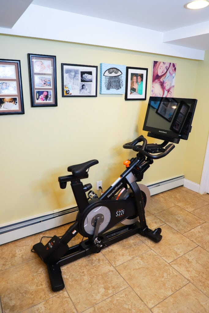 spin class in your basement live classes