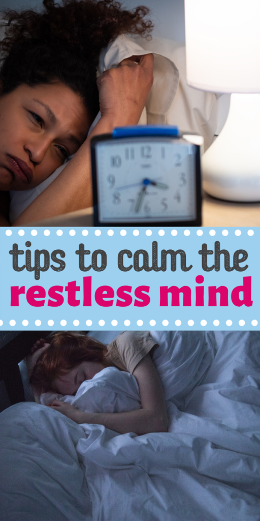 tips to calm the restless mind