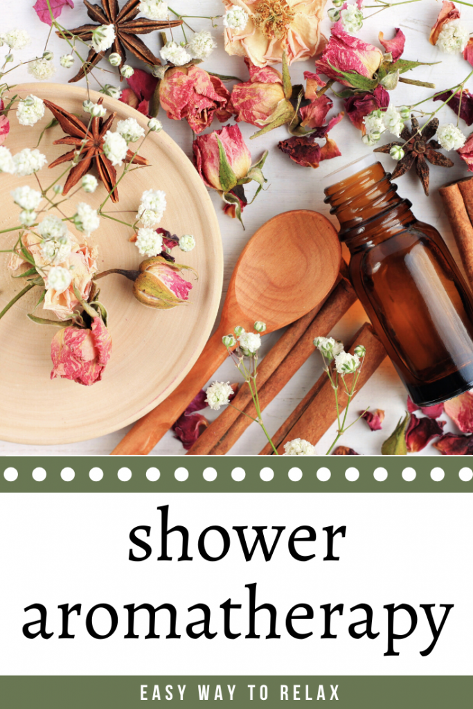 essential oils in the shower options