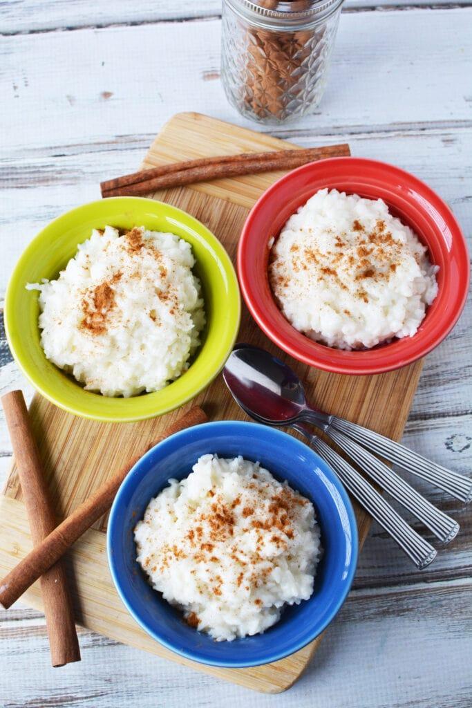 Rice Pudding for Dessert