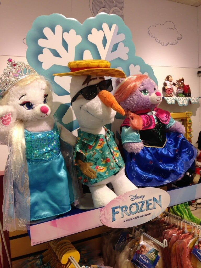 party inside the build a bear workshop