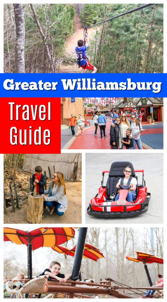 Greater Williamsburg Travel Guide