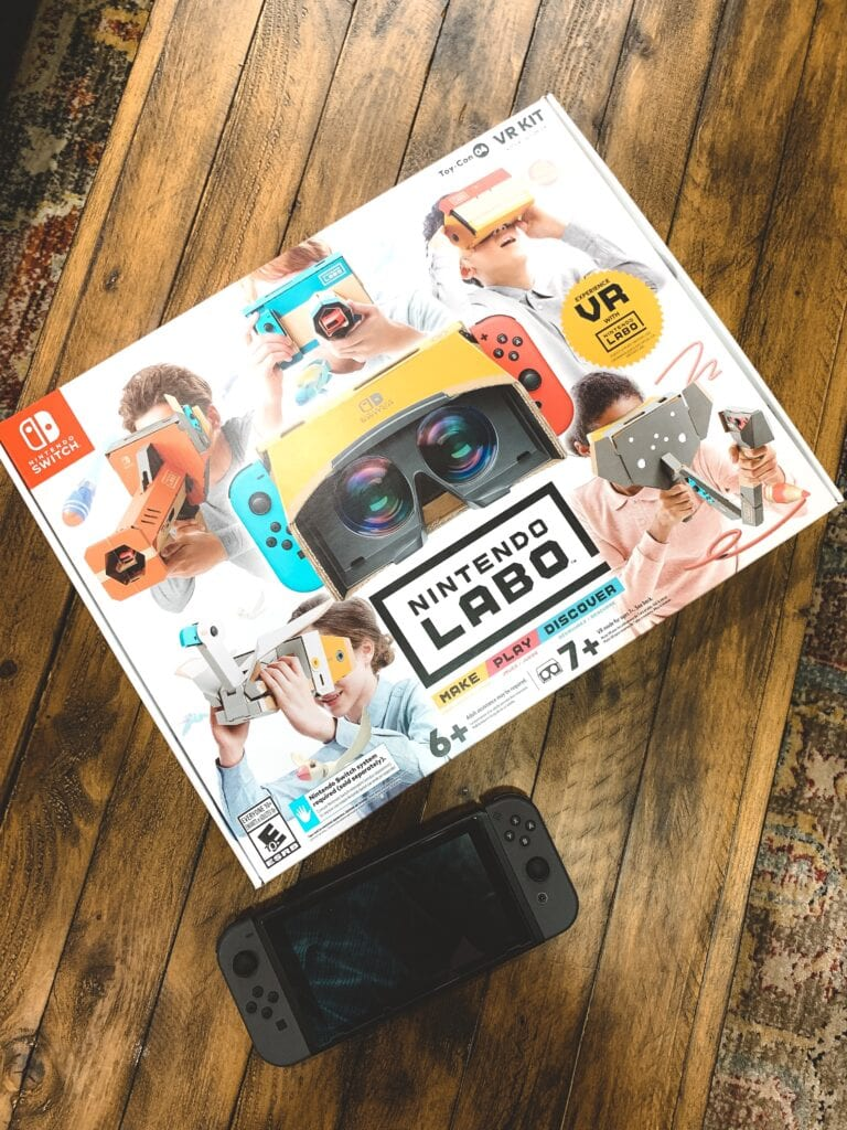 Nintendo Labo Kit - At Home VR Experience For Kids