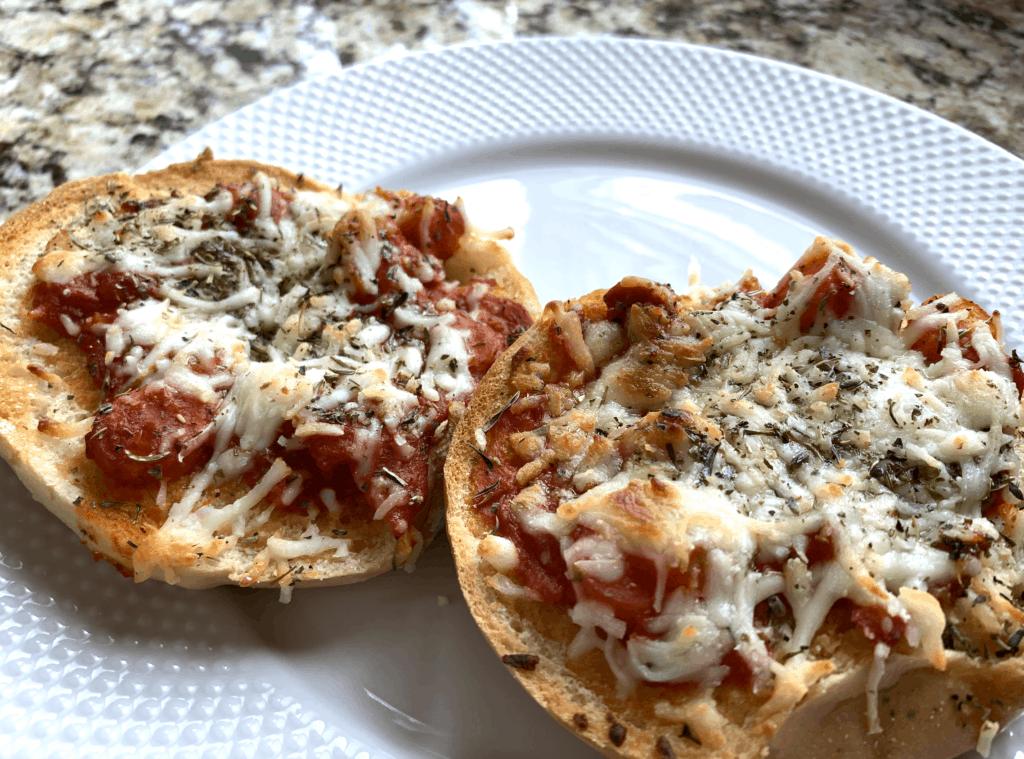 How To Make Pizza Bagels - Easy Homemade Pizza Bagel Recipe