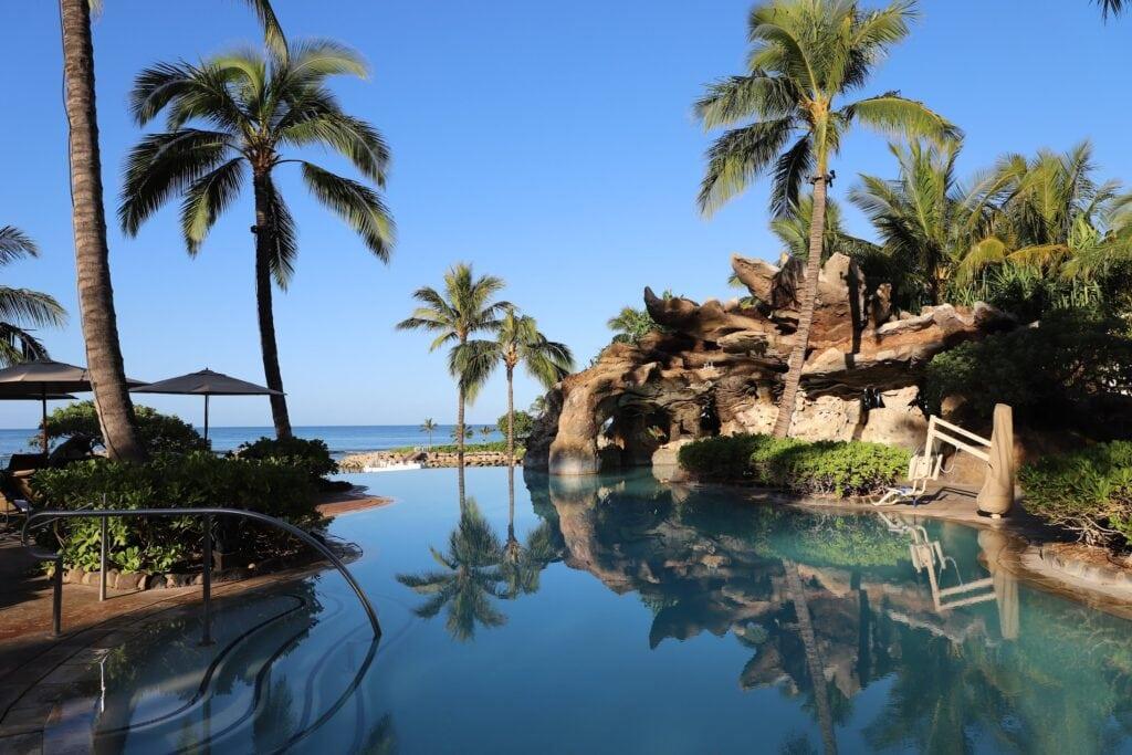 Pool View Hawaii Aulani