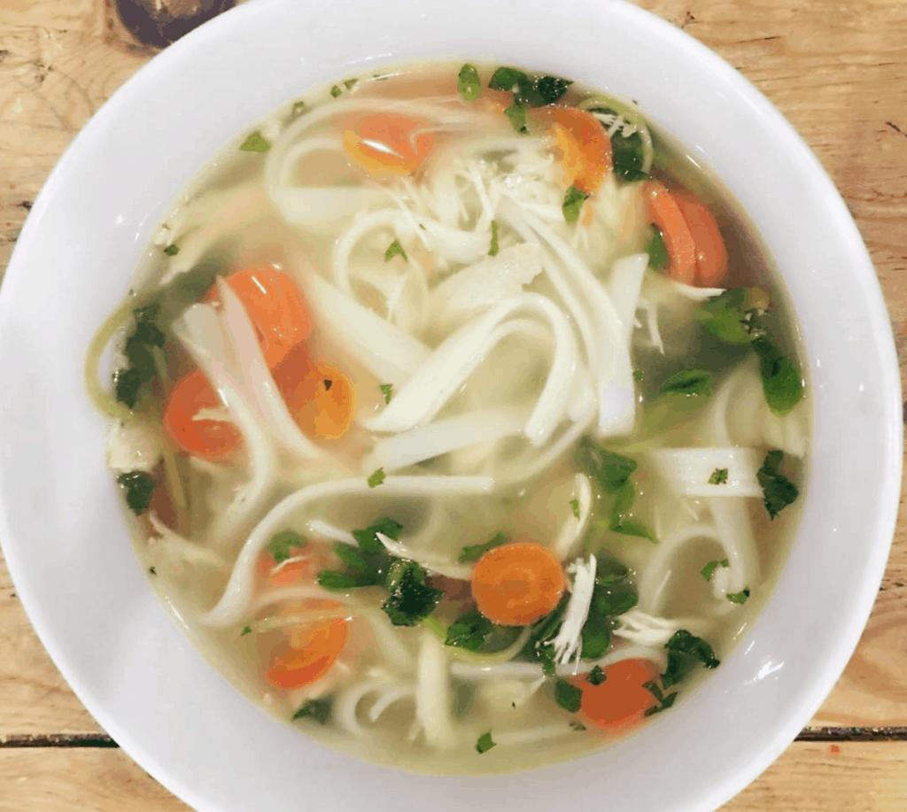 Spicy Thai Chicken Noodle Soup Recipe