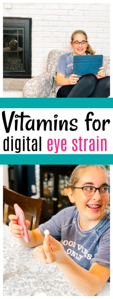 Vitamins for Digital Eye Strain