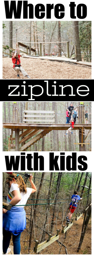Where To Zip-line With Kids