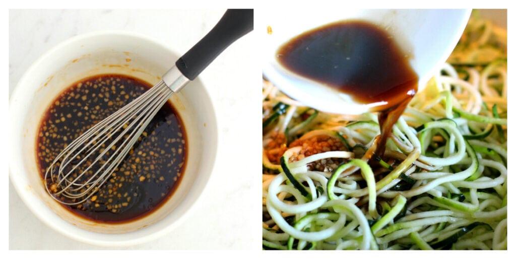 making asian sesame sauce