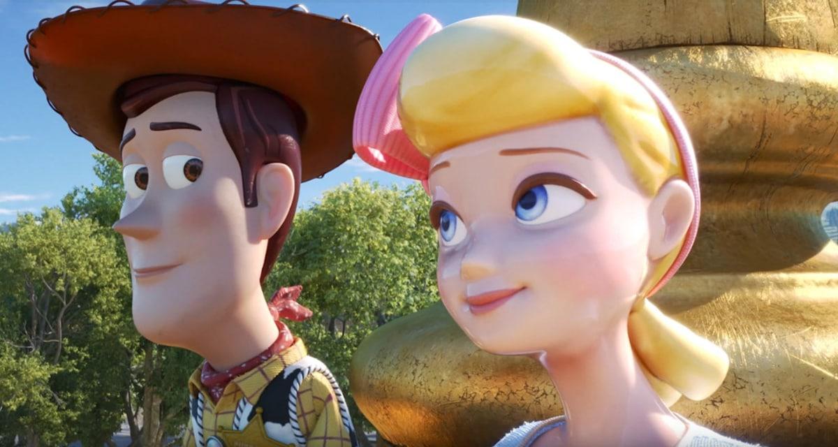 Toy Story 4 Lil Bo Peep Woody